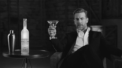 Watch James Van Der Beek's Hilarious Take on a Classic Vodka Ad for RED