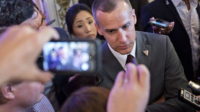 Corey Lewandowski Said the NYT Executive Editor 'Should Be in Jail'