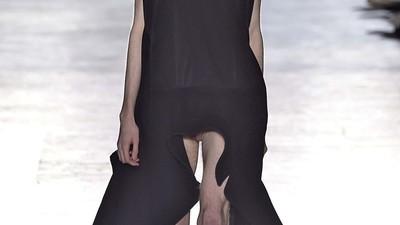 Rick Owens Put Flaccid Dicks on the Runway at Paris Fashion Week [NSFW]