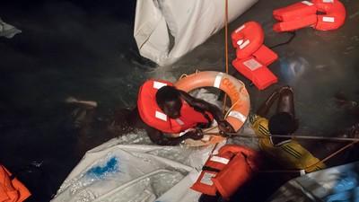 Ich war dabei, als die libysche Küstenwache Flüchtlinge ertrinken ließ