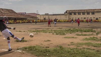 Tonight on SBS VICELAND: Inside Uganda's Soccer-Mad Luzira Upper Prison