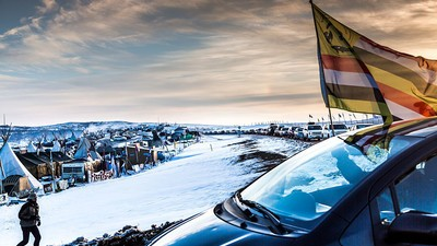 The Dakota Pipeline Will Be Rerouted, but the Standing Rock Campers Aren't Moving Just Yet