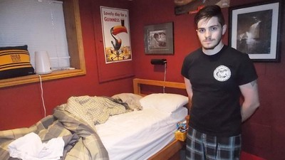 Millennials Living with Their Parents Show Us Their Bedrooms