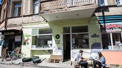 A Vegan Cafe Was Attacked by Meat-Wielding Neo-Nazis