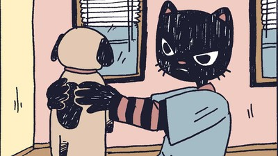 'Catboy Gets a Job,' Today's Comic by Benji Nate