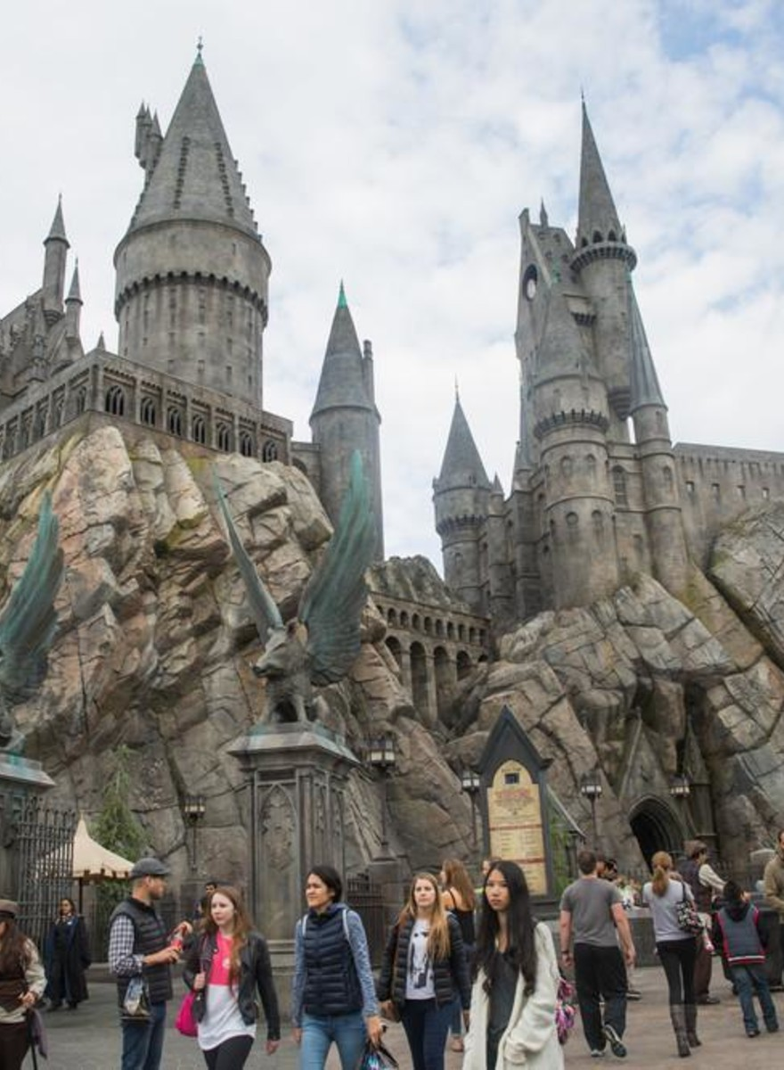 Here's What a $500 Million Harry Potter Theme Park Looks Like