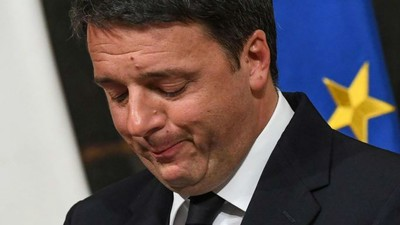 Primeiro-ministro italiano Matteo Renzi renuncia