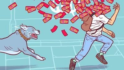 Dans la vie d'un travailleur payé moins que le SMIC