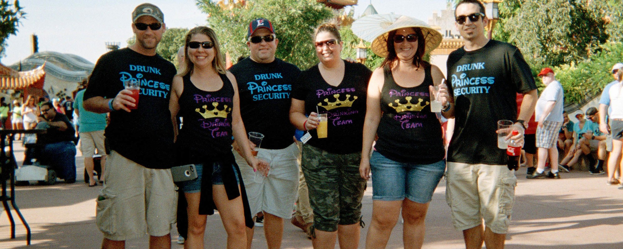 Photos of People Getting Happily Drunk in Disney World