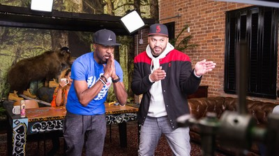 Desus and Mero Support the Mall of America's New Black Santa