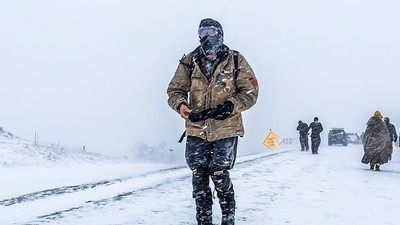 How the Standing Rock Camps Are Coping with the Massive Blizzard