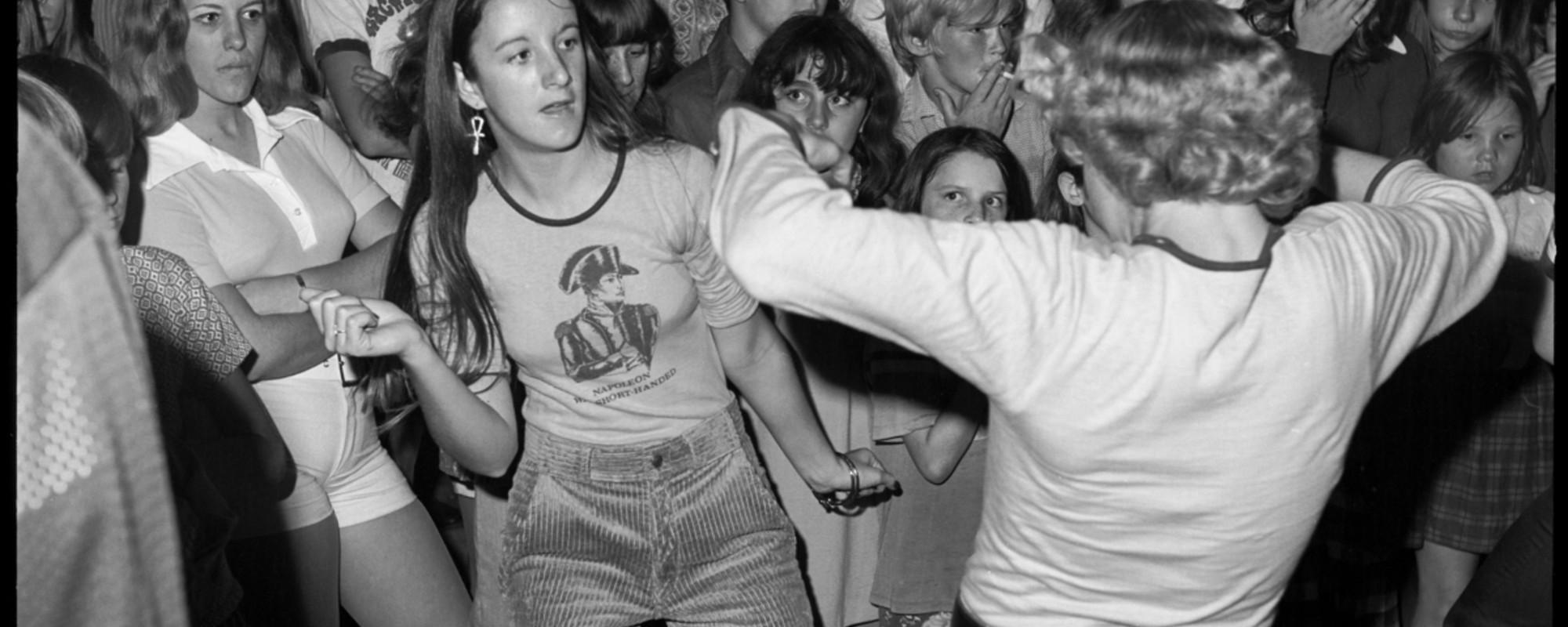 Des photos des amateurs de roller d'il y a 40 ans