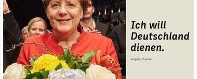 Eine investigative Analyse dieses Angela-Merkel-Bildes
