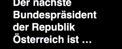Ich war wahrscheinlich der letzte Österreicher, der das Wahlergebnis erfahren hat