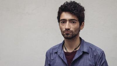 Platicamos con uno de los refugiados sirios en México