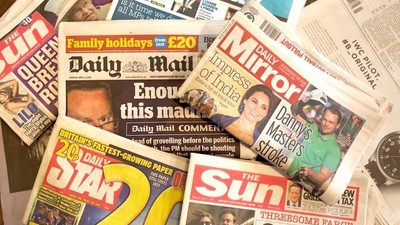 Some of the Things I've Overheard Working at a British Tabloid Newspaper