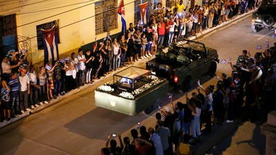 A Final March Through Cuba with Castro's Ashes