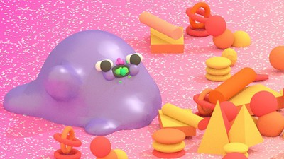 'Purple Slime Molds Need Fitness Too,' Today's Comic by Julian Glander