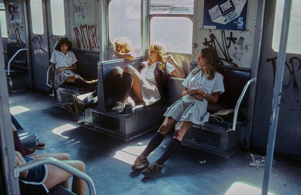 Sex und Crime in der New Yorker U-Bahn der 70er Jahre