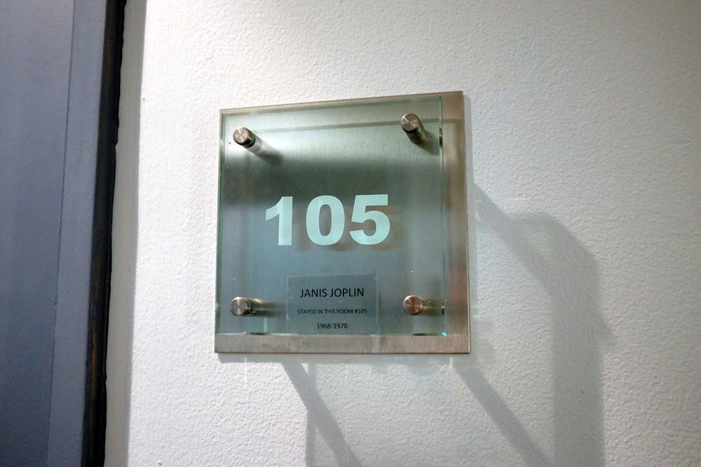 Landmark Motor Hotel Room 105