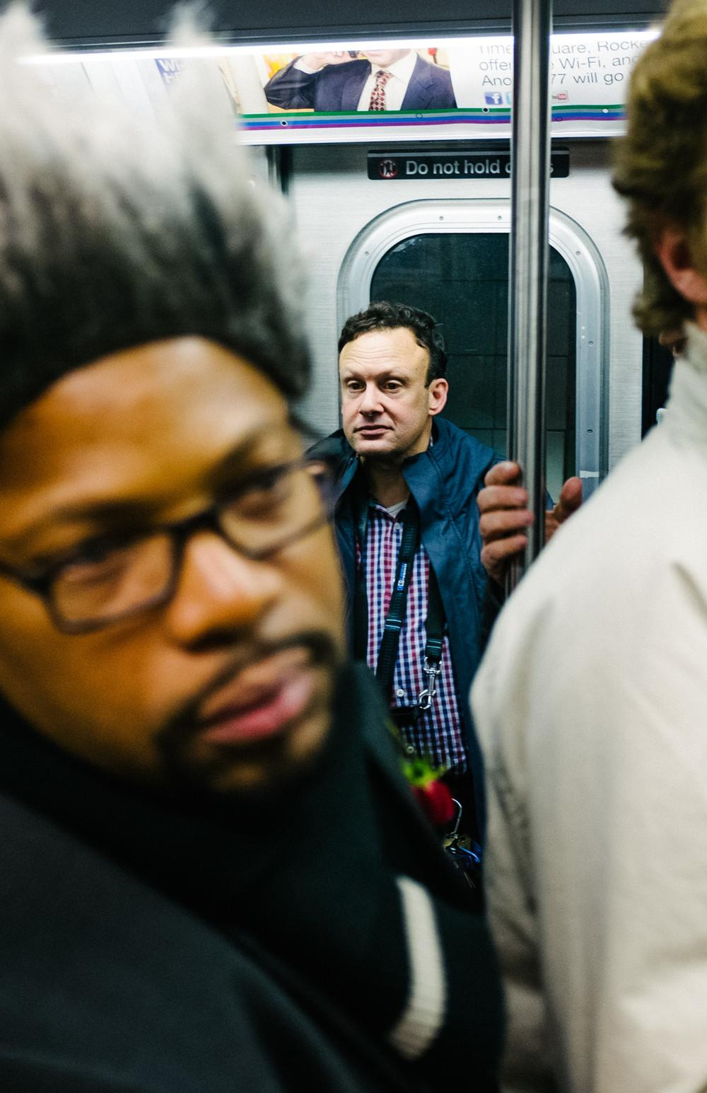 Photos of the Freaks and Weirdos Riding the NYC Subway on ...