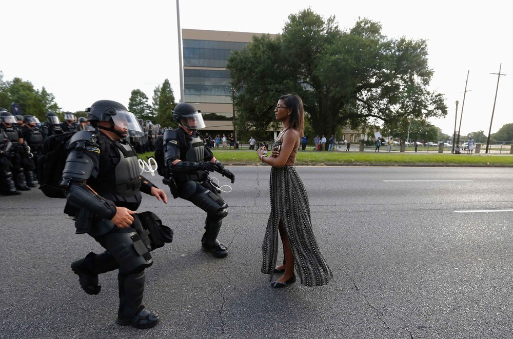The Story Behind The Black Lives Matter Photo Seen Around