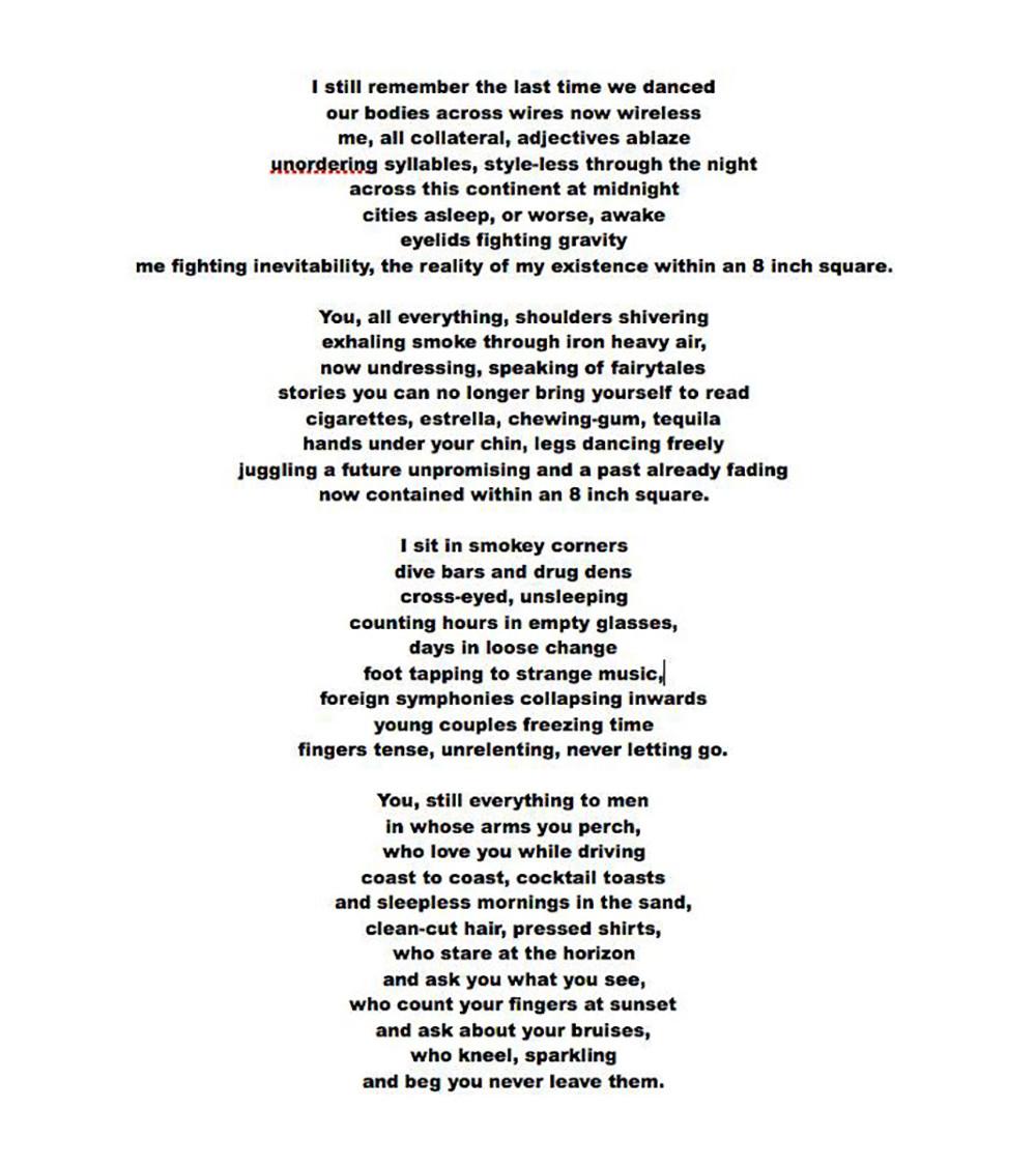 Love letter poem for him