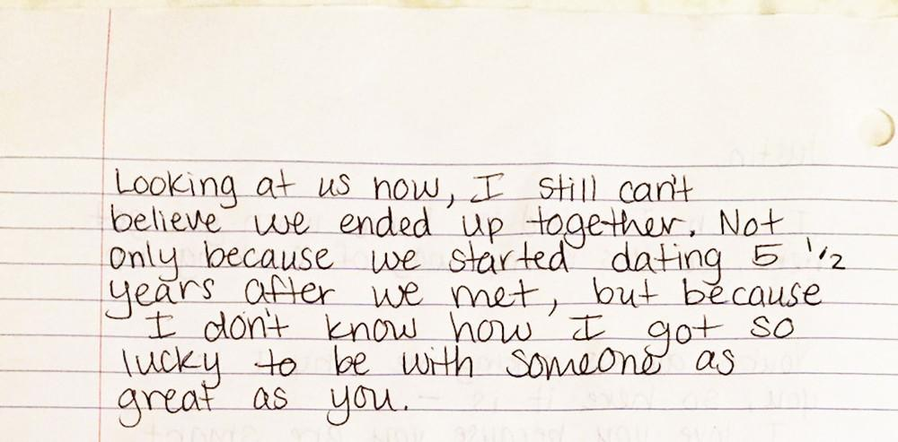 People Show Us Their Old Love Letters