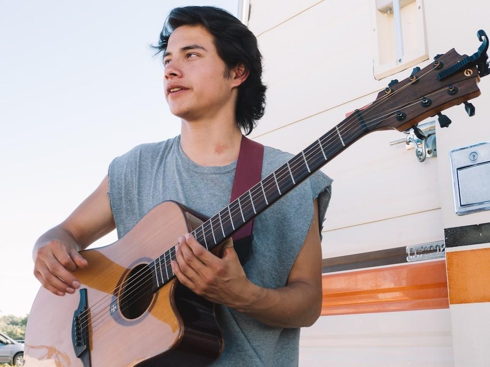 Bert Malcom A Musician From Pine Ridge South Dakota