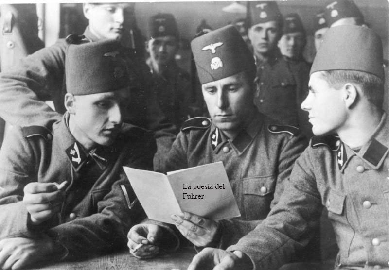 poemas de dictadores y genocidas Hitler SS
