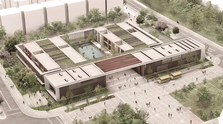 Esta es la nueva propuesta para dise ar los colegios for Plantas de colegios arquitectura