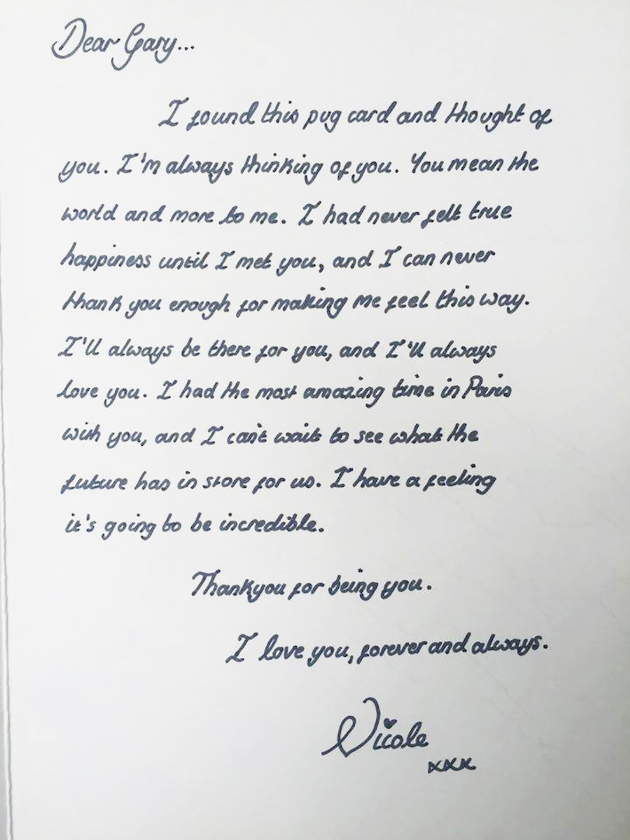 Cutest love letter ever written