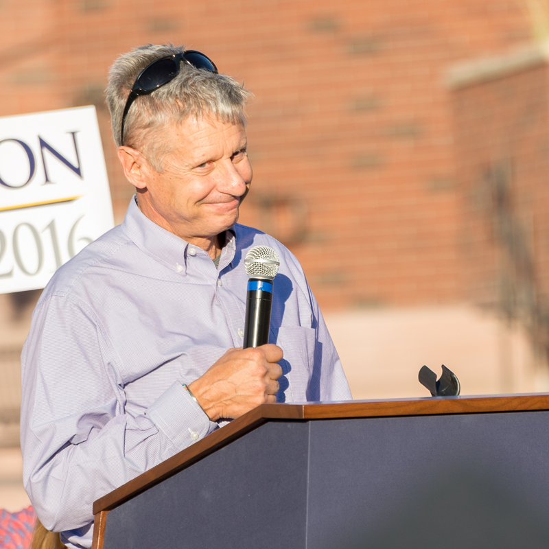 Gary Johnson picks up his first congressional backer