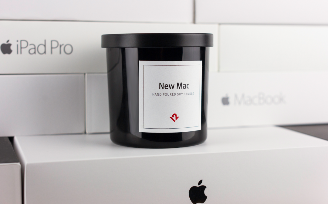 This Candle Supposedly Smells Like a New Mac