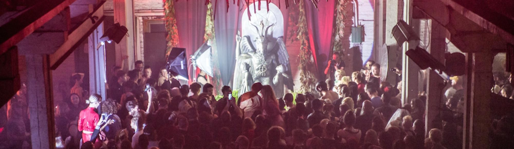 Inside the Secret Unveiling of the Baphomet Monument