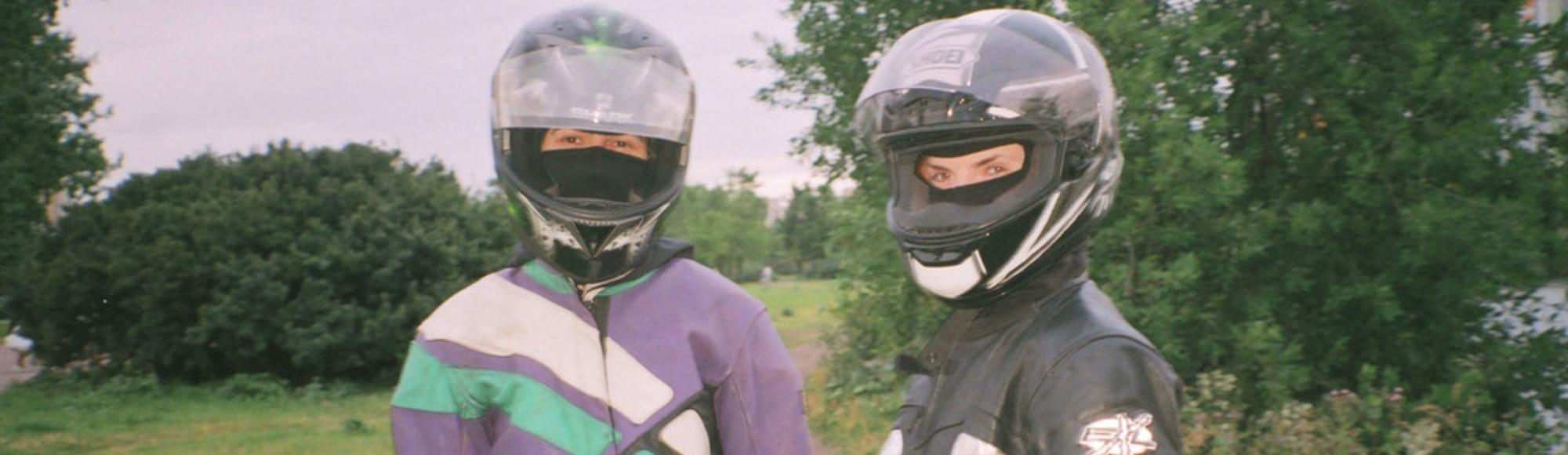 Hanging Out with Russia's Only Gay Motorbike Gang