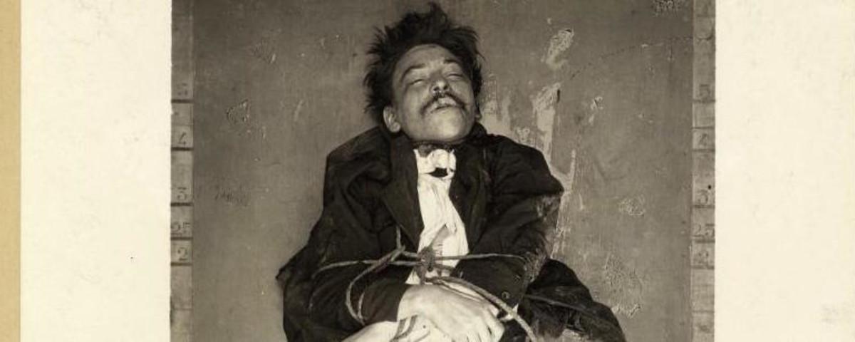Fotos de asesinatos del archivo histórico de la policía de París