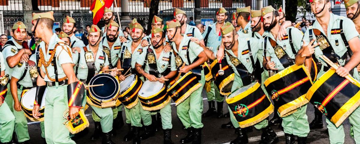Así fue el desfile del día de la Hispanidad
