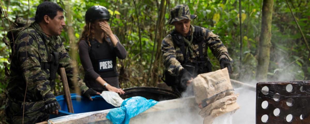 In Search of Peru's Secret Cocaine Labs'