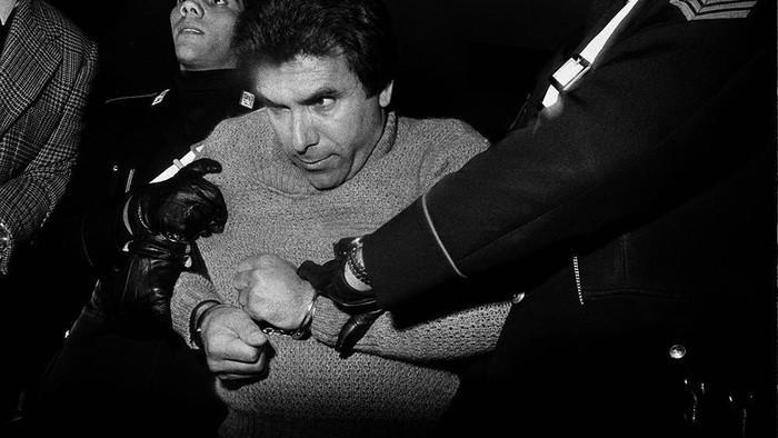 Ból i emocje na zdjęciach sycylijskich mafiozów