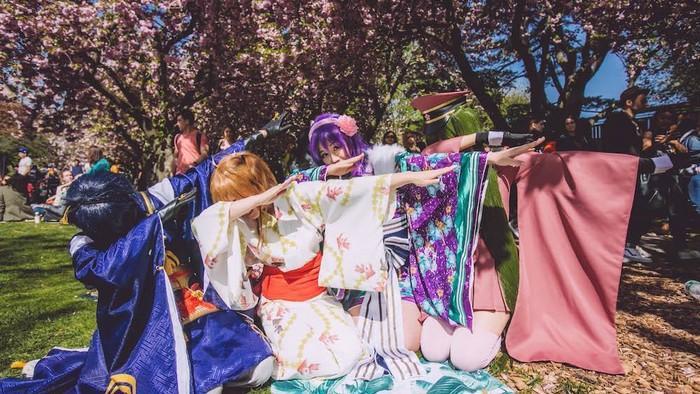Alles was super kawaii bij het Cherry Blossom Festival in New York