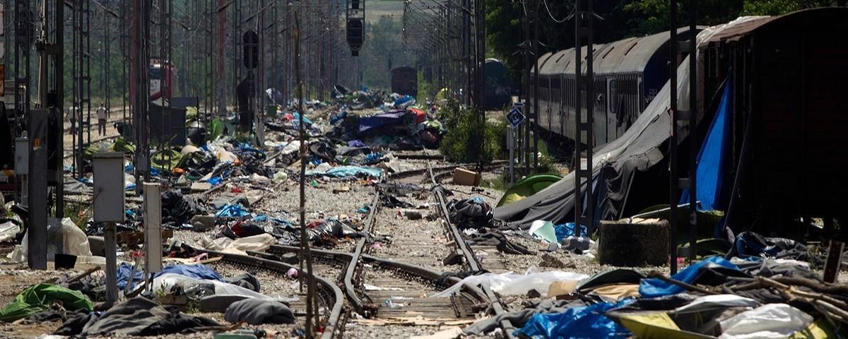 Τα Aπομεινάρια του Mεγαλύτερου Προσφυγικού Καταυλισμού στην Ευρώπη