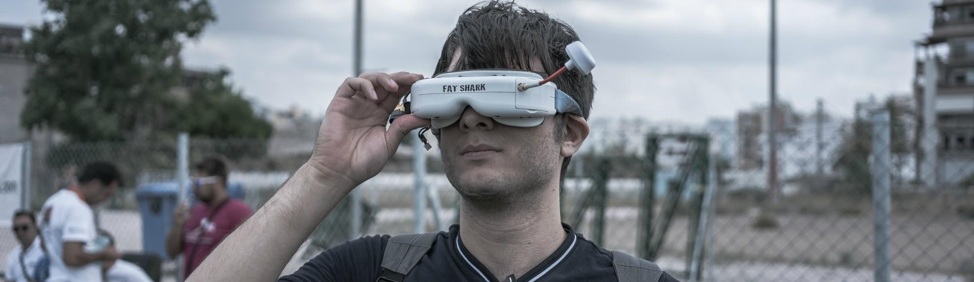 Βρεθήκαμε στους Πρώτους Αγώνες Tαχύτητας με Drones στην Αθήνα