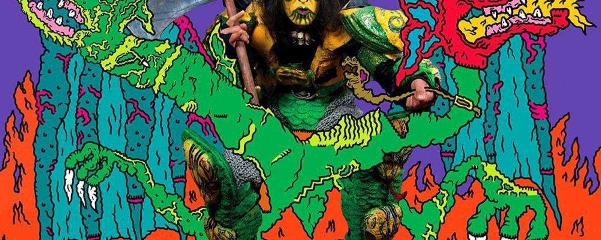 De ultieme fantasieën van Xenopus de slangenman