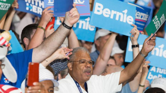 Bernie Bros Crashed the DNC
