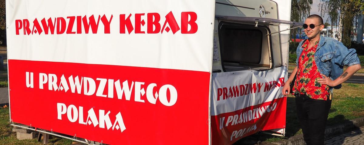 """Zjedliśmy """"prawdziwego kebaba u prawdziwego Polaka"""""""