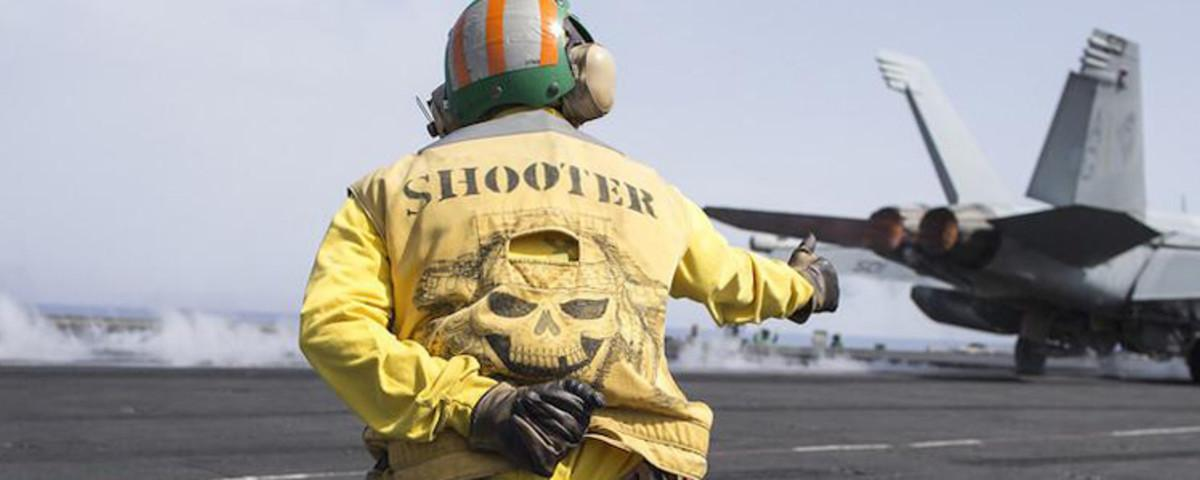 Daily Life Aboard a US Aircraft Carrier