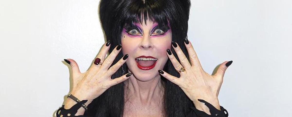 Elvira's Greatest Fear Is a Trump Presidency