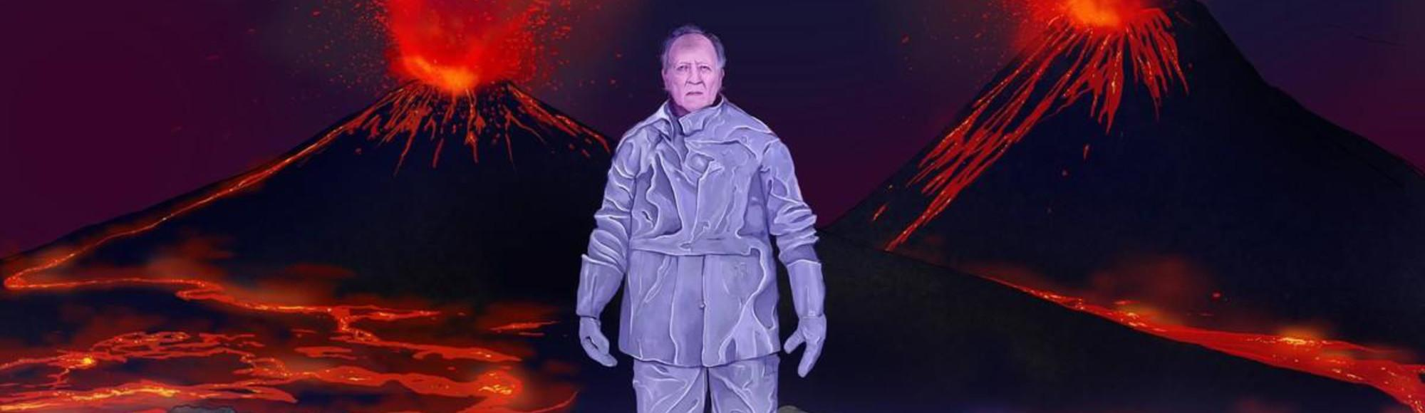 Werner Herzog Really, Really Likes Volcanoes