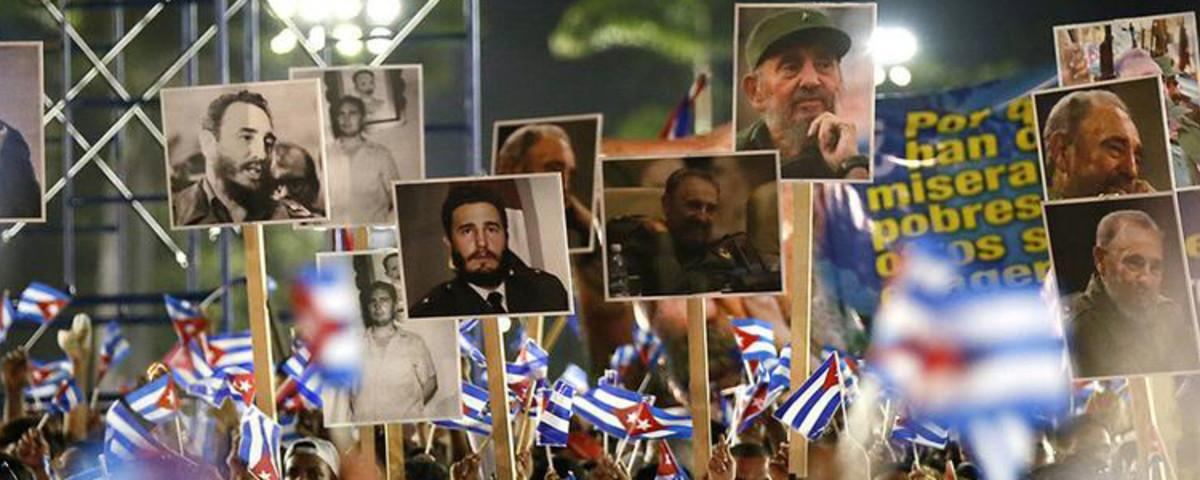 Cuba Says Goodbye to Its Bearded Comandante